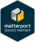 3D Virtual Realty - matterport service partner logo
